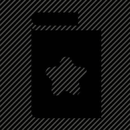 card, greeting, star icon