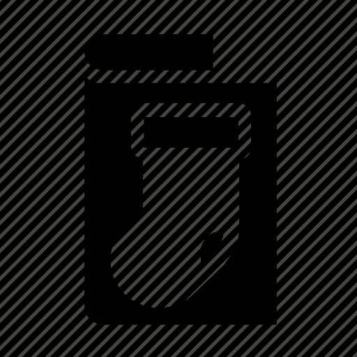 card, greeting, stocking icon