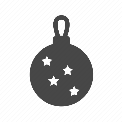 ball, bauble, christmas, decoration, holiday, light icon