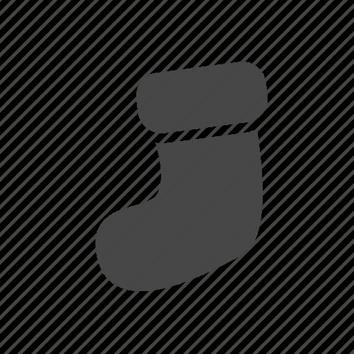 christmas, christmas stocking, socks, stocking icon