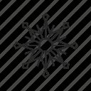 christmas, snow, snowflake, winter