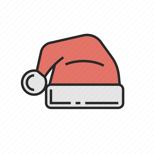 christmas, hat, new, winter, year icon