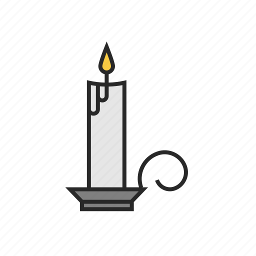 candle, christmas, winter icon