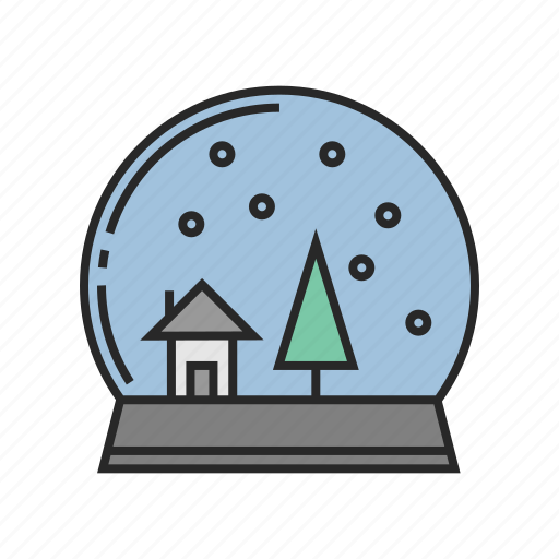 ball, christmas, new, winter, year icon