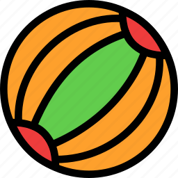 ball, beach, christmas, festival, holiday, vacation icon