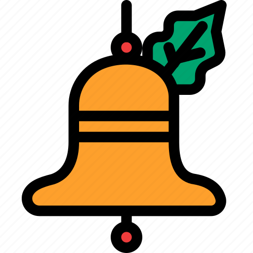 bell, christmas, festival, holiday, vacation icon