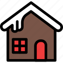cabin, christmas, festival, holiday, vacation icon