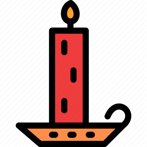 candel, christmas, festival, holiday, vacation icon