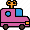 car, christmas, festival, holiday, vacation icon