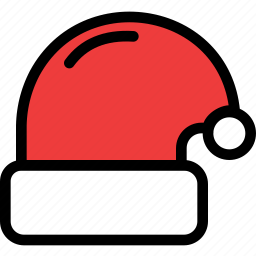 christmas, festival, hat, holiday, vacation icon