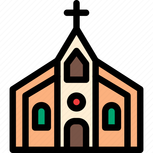 christmas, church, festival, holiday, vacation icon