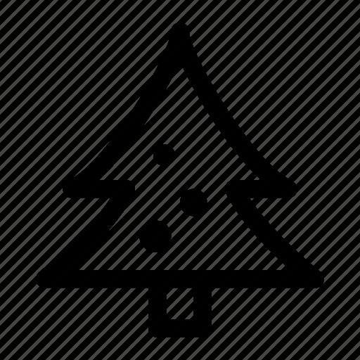 christmas, christmas tree, decoration, pine, tree, winter, xmas icon