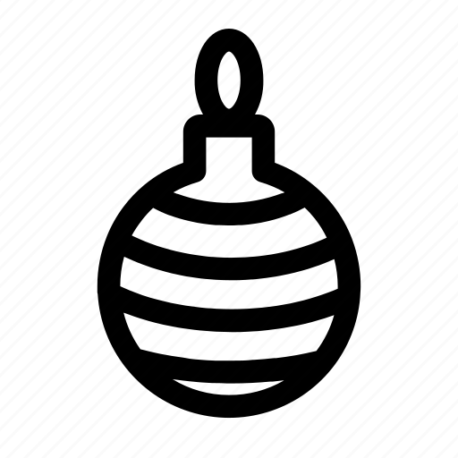 Bauble, christmas, tree decoration, decoration, ornament, xmas icon - Download on Iconfinder