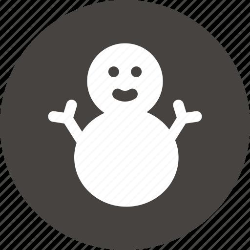 christmas, freezing, snow, snow man, snowman, winter icon