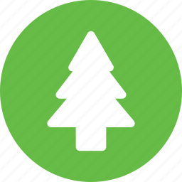christmas, forest, tree, winter icon