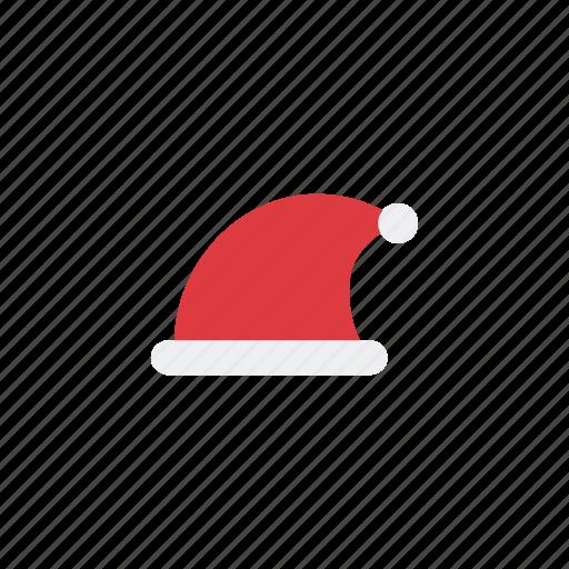 hat, ice, santa clause hat, snow, winter icon