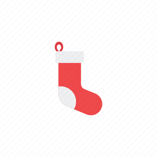 decoration, gift, holiday, love, shopping, socks, summer icon