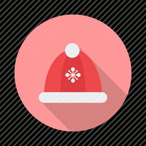 blue, cap, clothes, clothing, fashion, santa, winter hat icon