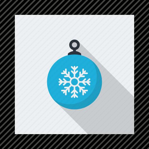 bauble, cloud, cold, decoration, forecast, snow, xmas icon