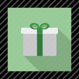 box, celebration, decoration, gift, holiday, love, shopping icon