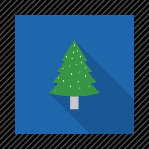 ecology, fir, forest, garden, jungle, park, pine icon