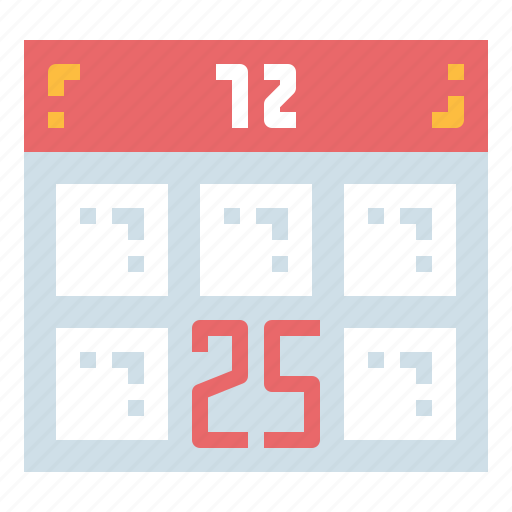 calendar, cristmas, date, scedule icon