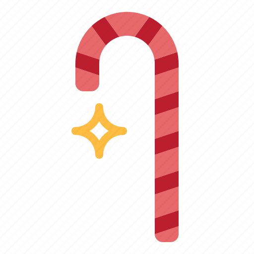candy, cane, dessert, sweet icon