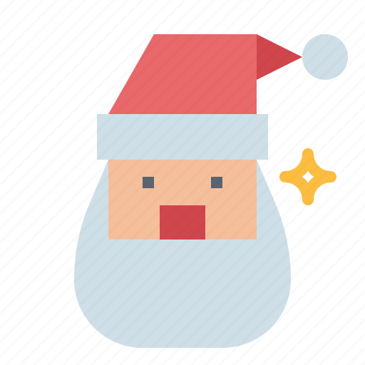 christmas, claus, man, old, santa icon