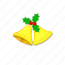 bell, bells, christmas, decoration, winter, xmas, xmasbell icon