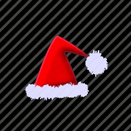 christmas, hat, santa, winter, xmas, xmashat icon