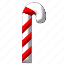 christmas, decoration, stick, winter, xmas, xmasstick icon