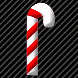 christmas, decoration, stick, winter, xmas, xmasstick icon