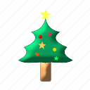 christmas, christmas tree, decoration, santa, tree, winter, xmastree icon