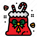 bag, candy, christmas, gift icon