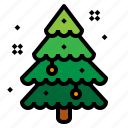 christmas, decorate, tree, xmas icon