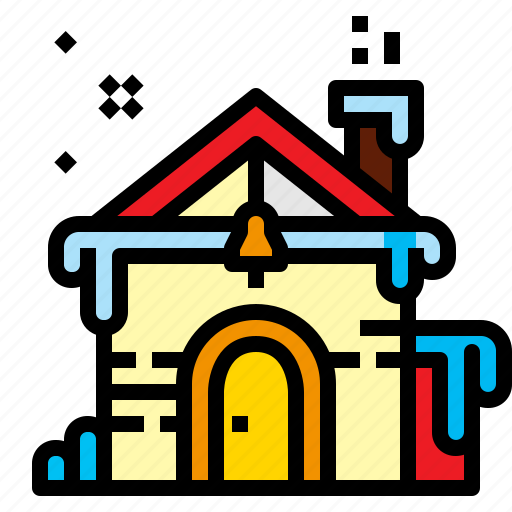 Christmas, house, snow, winter icon - Download on Iconfinder