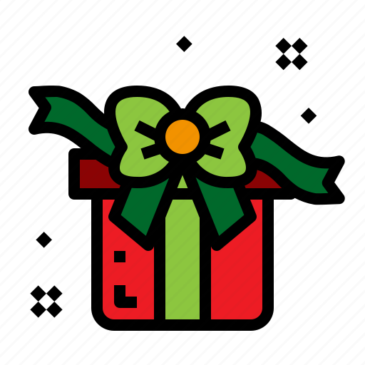 Christmas, gift, present, ribbon icon - Download on Iconfinder