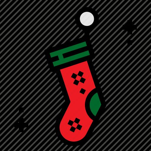 Christmas, socks, stockings, xmas icon - Download on Iconfinder