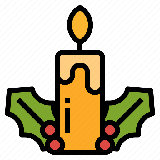 Candle, christmas, decoration, light, ornamental icon - Download on Iconfinder