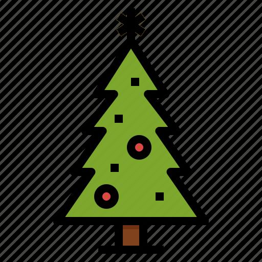 Christmas, decoration, pine, tree, xmas icon - Download on Iconfinder