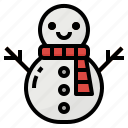 christmas, snow, snowman, winter, xmas