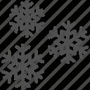 ice, snow, snowflake icon