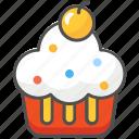 cake, dessert, muffin icon