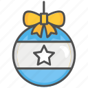 bauble ball, christmas bauble icon