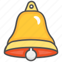 bell, christmas, christmas bell, church bell icon