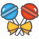 candy, christmas, lollipop icon