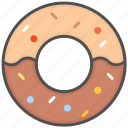 biscuits, cookies, sweets icon