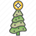 christmas, tree, xmas icon