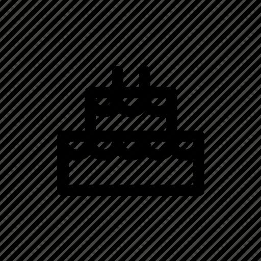 Cake, christmas, decoration, dessert, winter, xmas icon - Download on Iconfinder