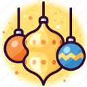 balls, bauble, christmas, decoration, tree
